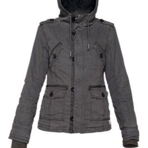 Aritzia Jackets & Coats - Aritzia |  TNA Grey Platoon Jacket Medium